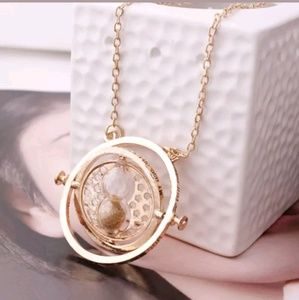 Jewelry - Harry Potter Time Turner Hourglass Necklace
